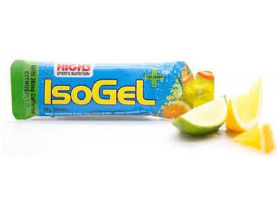 Želeja High5 IsoGel Plus ogas ar kofeīnu 60ml