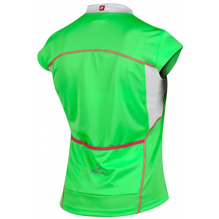 Krekls Spiuk Anatomical Fit Woman zaļš/balts