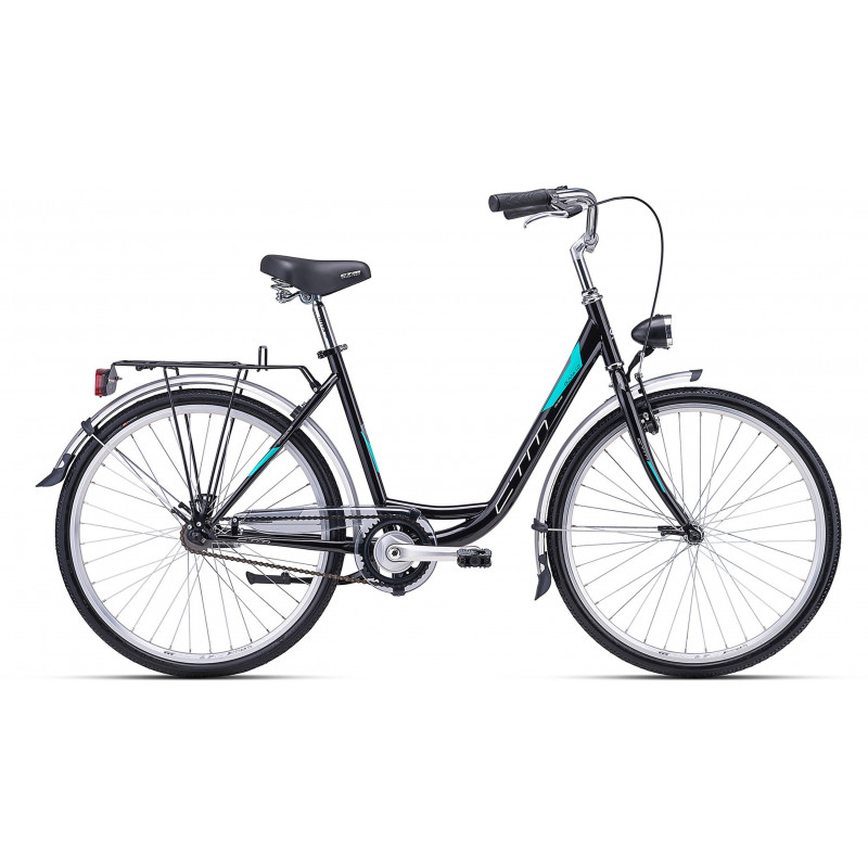 Bicycle CTM Olivia 1.0 black/turquoise