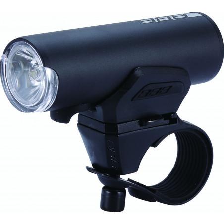 Priekšējā lampa BBB BLS-115 Scout 200 lumen LED pelēka/melna