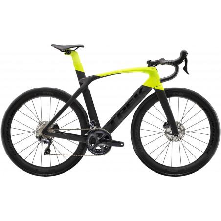 Šosejas velosipēds TREK Madone SL 6 Disc melns/dzeltens (2020)