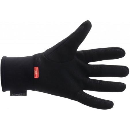 Glove Santini Trek-Segafredo Team Winter Black