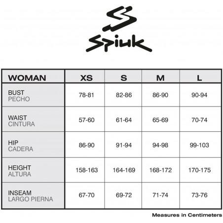 Bikses 3/4 Spiuk Anatomical Fit Woman