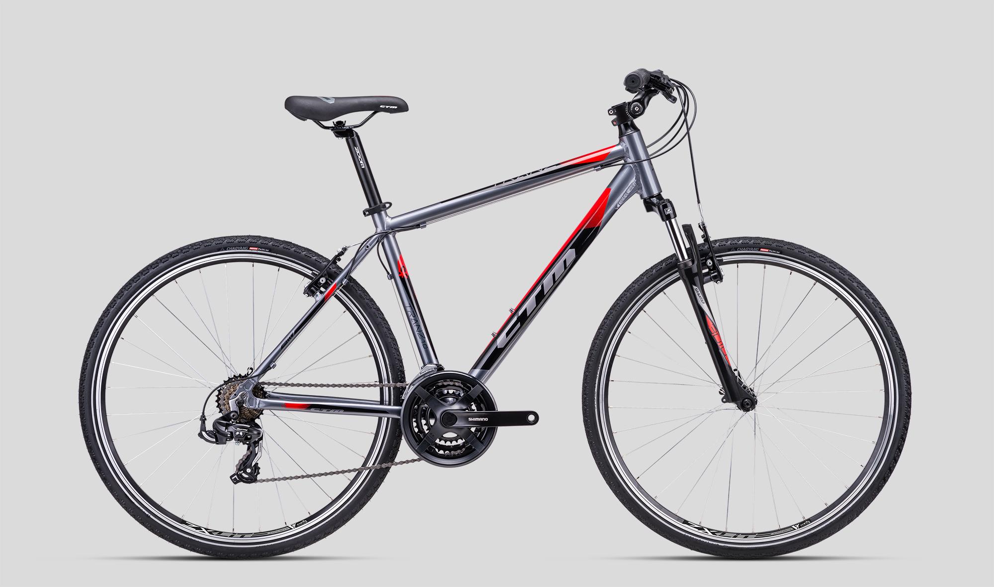 CTM Tranz hibrīda velosipēds
