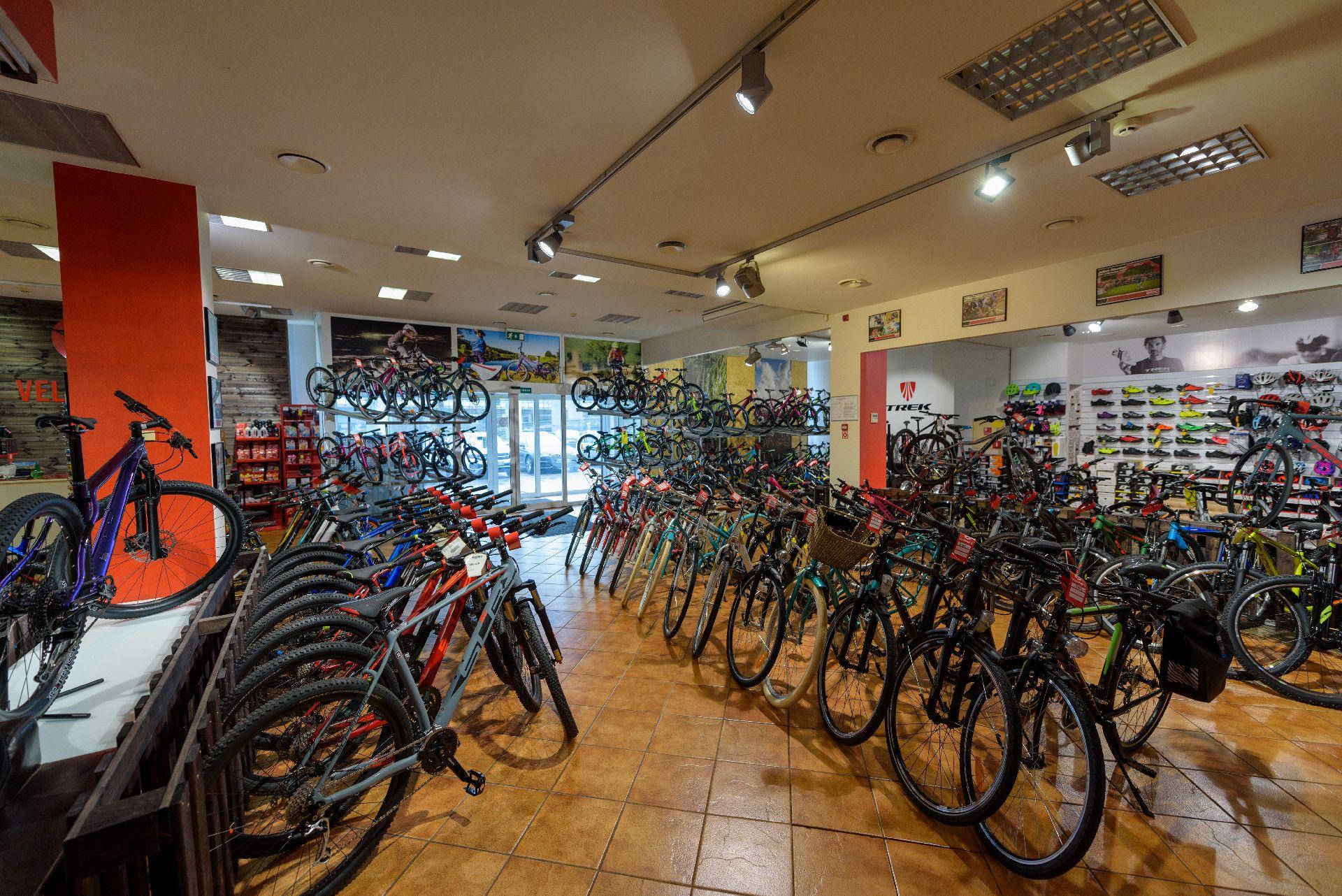 Liela velosipēdu izvēle, mūža garantija, lielisks serviss